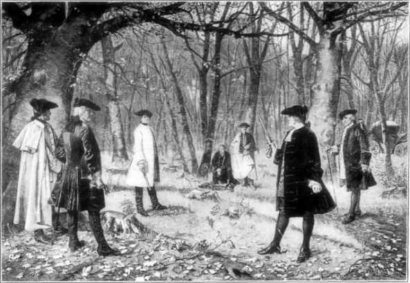 Duelo de Hamilton y Burr